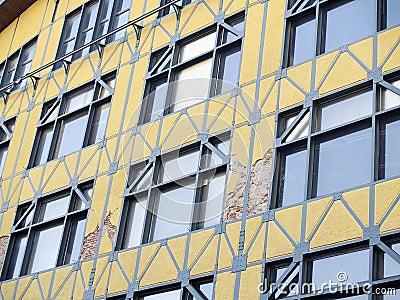 Earthquake of Chile february 2010 in Valparaiso 14 Editorial Stock Photo