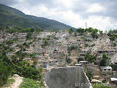 Earthquake in Haiti Editorial Stock Photo