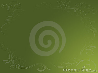 Earthy Green Grunge Background