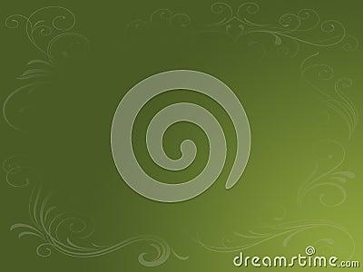 Earthy Green Grunge Background