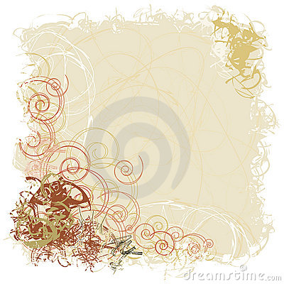 Earthy Scrollwork