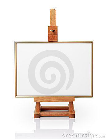 Free Easel Stock Images - 13501364