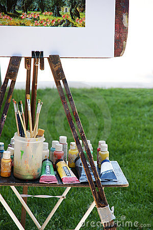 Free Easel Royalty Free Stock Photo - 15299485
