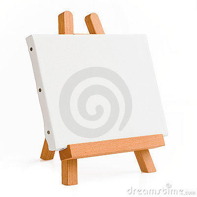 Free Easel For Artist. Tripod For Painting. Stock Photography - 18982562