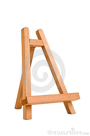 Free Easel For Artist. Tripod For Painting. Stock Photos - 18982643