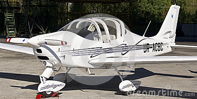 Easily motor aircraft model Editorial Stock Photo