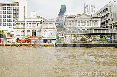 East Asiatic Company building, Bangkok Editorial Image
