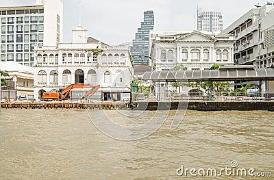 East Asiatic Company building, Bangkok Editorial Image