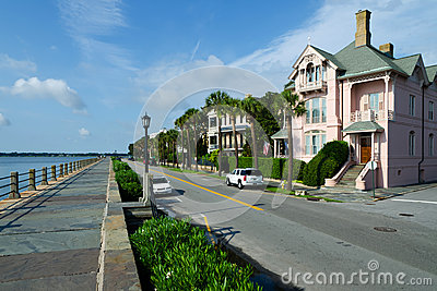 East Battery in Charleston, SC