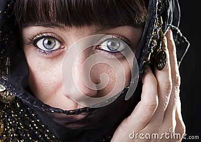 East blue eyes