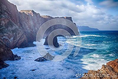 Ponta de Sao Lourenco - Madeira, Portugal. Stock Photo