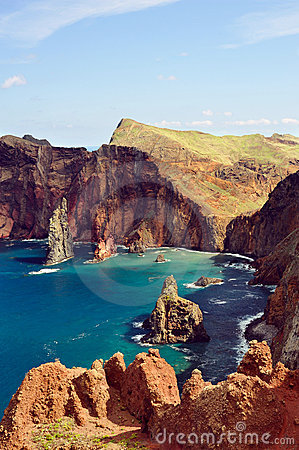 Free East Coast Of Madeira Island, Ponta De Sao Loure Royalty Free Stock Photography - 15076127