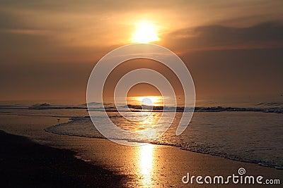 East coast sunrise