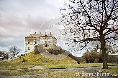 East European medieval castle