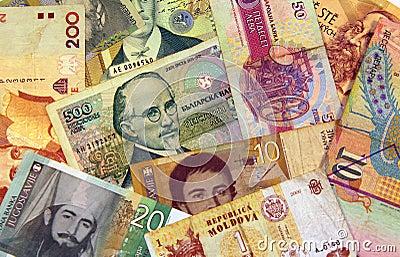 East European money