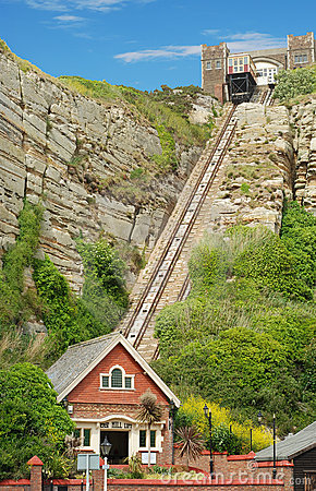 East hill lift hastings england