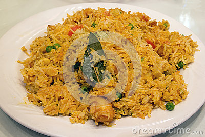 East Indian Biryani Rice Dish