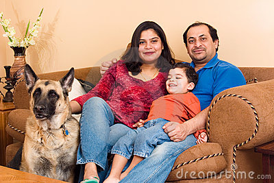 East Indian Family