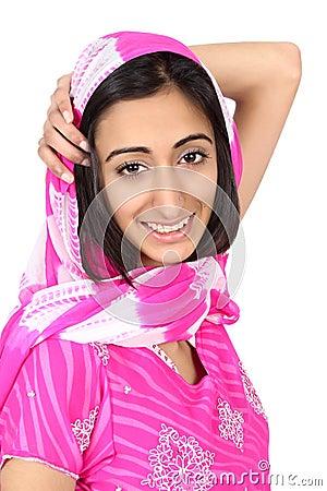 East Indian teen