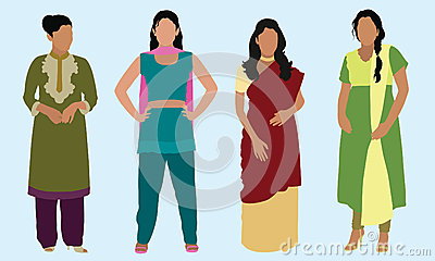 East Indian Women
