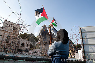 East Jerusalem Protest Editorial Photo