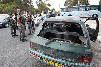 East Jerusalem Riots Editorial Photo