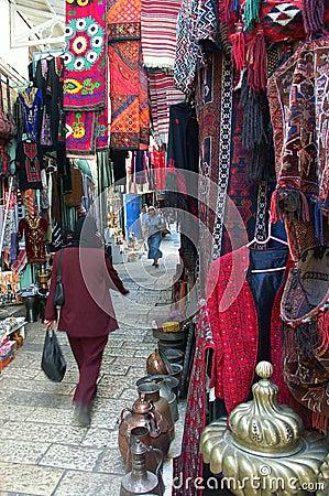 East market in Jerusalem