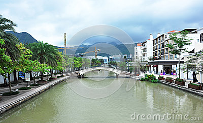 East overseas chinese town