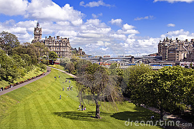 East Princes Street Gardens, Edinburgh