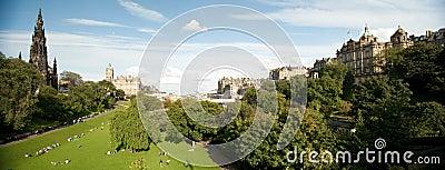 East Princes Street Gardens, Edinburgh, Scotland