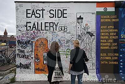 East Side Gallery Editorial Stock Photo