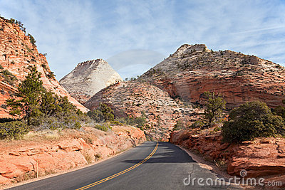 East Zion Canyon