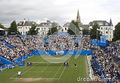 Eastbourne 2011 Quarter-finals Editorial Photography