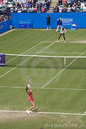 Eastbourne 2011 Quarter-finals Editorial Photography