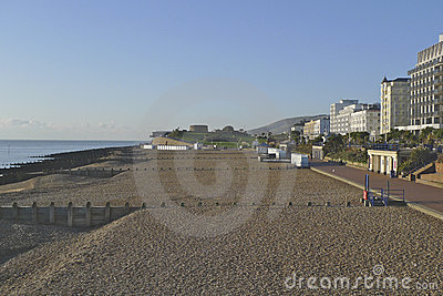 Eastbourne seafront looking to Beachy Head