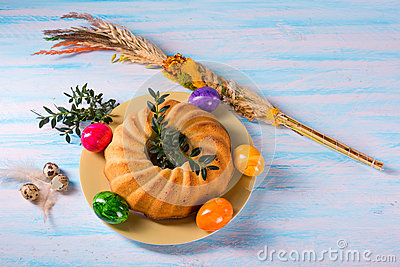 Easter Babka Stock Photo - Image: 67405282