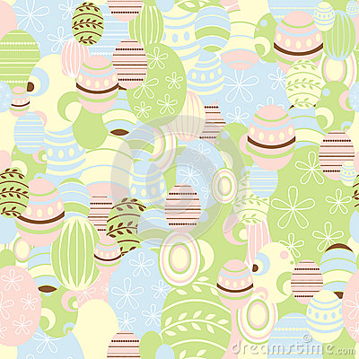 Easter background, vector