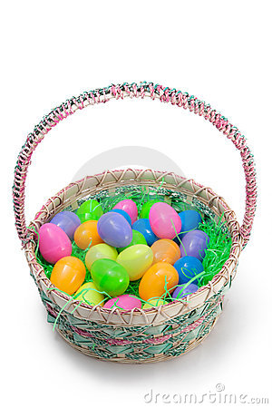 Free Easter Basket Stock Photography - 13136312
