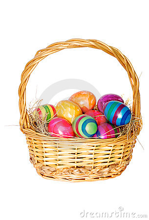 Free Easter Basket Royalty Free Stock Image - 13573396