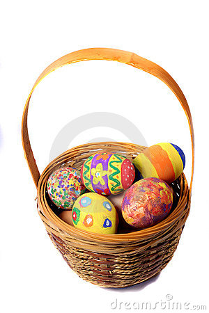 Free Easter Basket Stock Image - 1768041