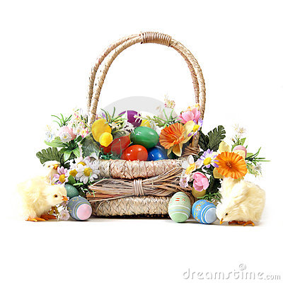 Free Easter Basket Royalty Free Stock Photos - 17785218