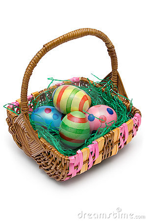 Free Easter Basket Stock Images - 2050854