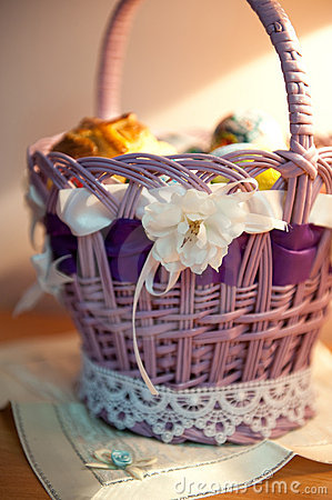 Free Easter Basket Stock Images - 23190764