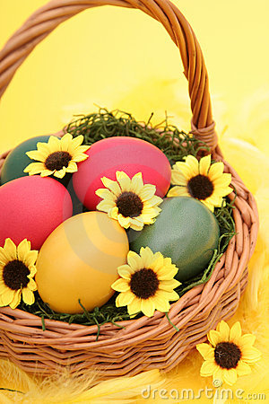 Free Easter Basket Stock Photo - 521040