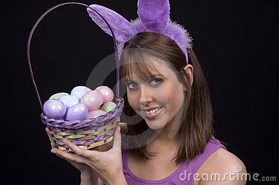 Easter Basket & Bunny