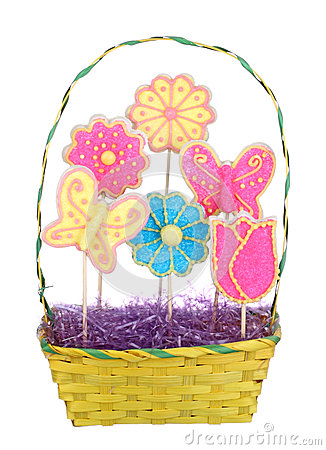 Easter Bouquet Isolated