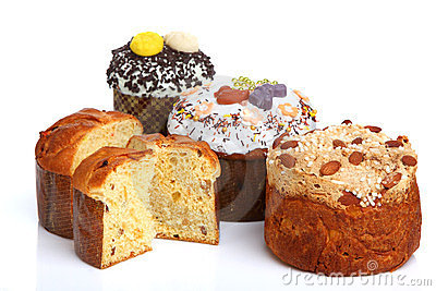 Easter Breads (Paska)