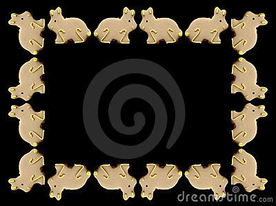 Easter Bunnies Frame
