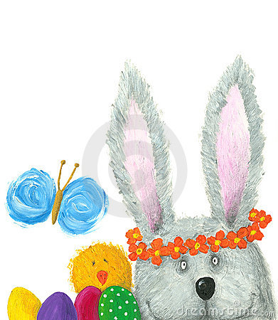 Free Easter Bunny Stock Photos - 15701733