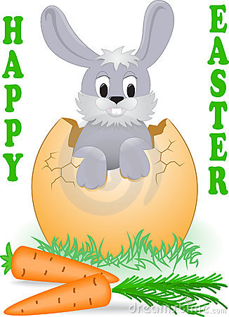 Easter Bunny Stock Images - Image: 18676924